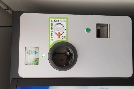 Pfandautomat Bild