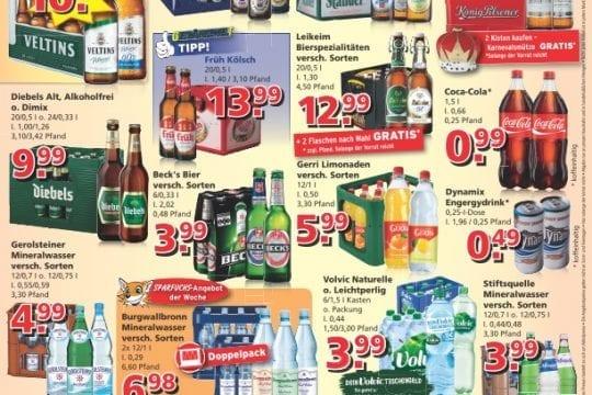 Getränkewelt Angebote KW09
