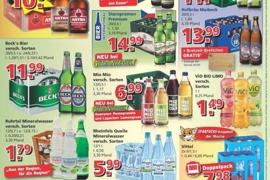 Getränkewelt Werbung KW10