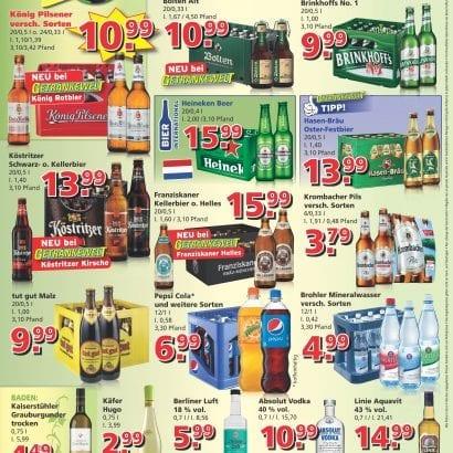 Getränkewelt Angebote für KW14