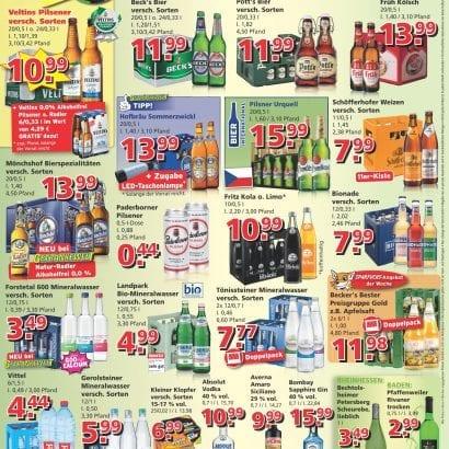 Getränkewelt Werbung KW21