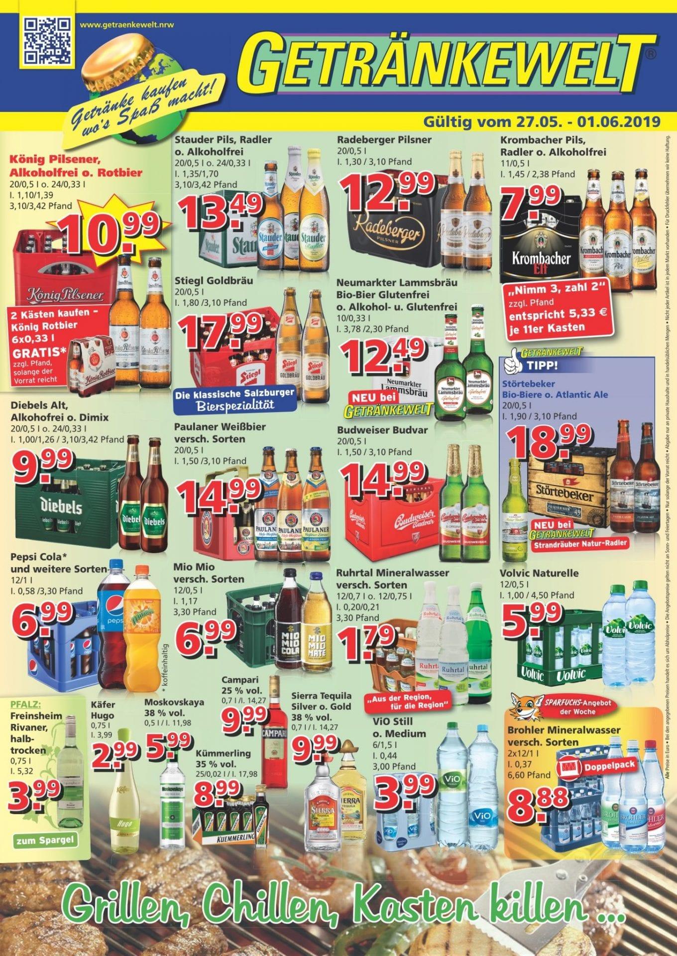 Getränkewelt Übersicht KW22
